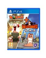 Worms Battlegrounds & Worms WMD (Double Pack) (PS4) (New)
