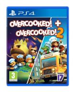 Overcooked! + Overcooked! 2 (PS4) (New)