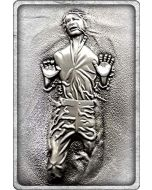 Star Wars K-001 Han Solo in Carbonite Limited Edition Metal Collectible (New)