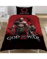 God of War New Official WARRIORS Single Duvet Set Reversible Childrens Novelty Bedding Duvet Cover and Pillowcase (New)
