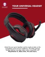 Numskull Multi-Format Gaming Headset (PS4 / Xbox One / Switch / PC) (New)