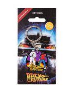 Fanattik- Back To The Future-Keyring-Marty & Doc, B1BA30E4E (New)