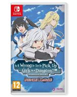 Is It Wrong To Try To Pick Up Girls in A Dungeon? Infinite Combate (Nintendo Switch) (New)