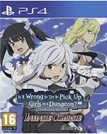 Is It Wrong To Try To Pick Up Girls in A Dungeon? (PS4) (New)