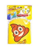 MVS WHOLESALE 12 x Emoji Hilarious Rude Prank Whoopee Cushion Toys - 6 Assorted Designs ( Receive 2 Of Each ), Ideal For Party Bag Fillers / Stocking Fillers (New)
