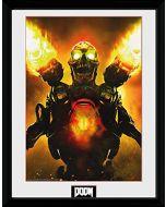 "GB eye, Doom, Key Art, Framed Photographic, 16""x12"", Wood, Various, 52x44x3 cm (New)"