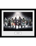 GB eye LTD, Assassins Creed, Characters, Framed Print 30x40cm, Wood, Various, 52 x 44 x 3 cm (New)