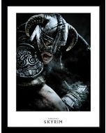 GB eye LTD, Skyrim, Attack, Framed Print 30x40 cm, Wood, Various, 52 x 44 x 3 cm (New)