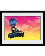 Fortnite Battle Bus 30 x 40 cm Framed Print (New)