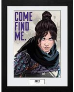 Apex Legends Come Find Me Framed Print (New)