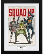 Apex Legends Squad Up Framed Print (New)