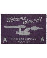 Star Trek Welcome Aboard! Unisex Door Mat multicolour, see description, (New)