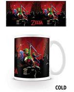 "Pyramid International""The Legend of Zelda (Battle) Official Boxed Ceramic Coffee/Tea Mug, Paper, Multi-Colour, 11 x 11 x 1.3 cm (New)"