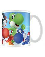 Super Mario MG24480 Pyramid International (Yoshi) Official Boxed Ceramic Coffee/Tea Mug, Multi-Colour, 11 oz/315 ml (New)