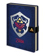 "Pyramid International A5 The Legend of Zelda""Hylian Shield"" Notebook (New)"