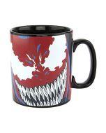 Venom Heat Change Mug - Large 550ml (18.5oz) - Officially Licensed Disney Marvel Merchandise (New)