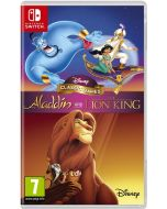 Disney Classic Games: Aladdin and The Lion King (Nintendo Switch) (New)
