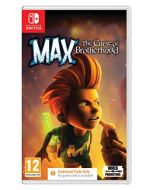 Max: The Curse of the Brotherhood (Code In A Box) (Switch) (New)