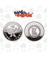 Banjo-Kazooie Collector's Limited Edition Coin (Silver) (New)