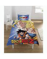 Dragon Ball Z New Official BATTLE Single Duvet Set Reversible Childrens Novelty Bedding Duvet Cover and Pillowcases (New)