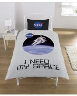 NASA Duvet Set, POLYCOTTON Multi, SINGLE (New)