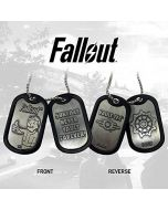 FaNaTtik Fallout Dog Tags with ball chain Logo Pendants necklaces (New)