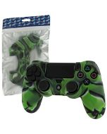 Assecure Pro Soft Silicone Skin Grip for PS4 Controller (PS4) (Green Camouflage) (New)