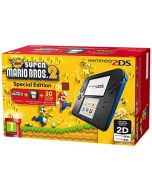 Nintendo Handheld Console 2DS -  Black/Blue with New Super Mario Bros 2 (New)
