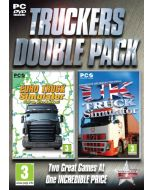 Truckers Double Pack - Euro Truck and UK Truck Simulator (PC CD) (New)