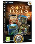 4 Play Collection - Treasure Hunters (PC DVD) (New)