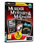 Murder, Mystery & Madness Triple Pack (PC CD) (New)
