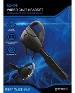 Gioteck EX4 Wired Chat Headset (PS4) (New)