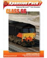 Class 66 Add-on for Microsoft Train Simulator (PC CD) (New)
