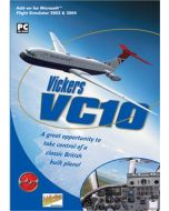 Vickers VC10 Add-On for FS 2002/2004 (PC CD) (New)