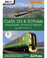 Class 153 and Totham - Passengers Power and Freight - Add on for Railworks2 (PC CD-ROM) (New)