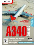 A340-500/600 Expansion pack for FS2004/FSX (PC DVD) (New)