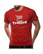 Loud Distribution Loud Clothing -Trollied Logo Men's T-Shirt Red Small (New)