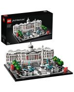 LEGO 21045 Architecture Trafalgar Square Building Set with London Landmark National Gallery Collectible Model (New)