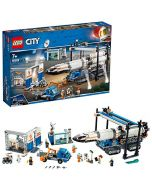 LEGO 60229 City Rocket Assembly and Transport Space Port Toy inspired by NASA, Mars Expedition Series (New)