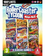 RollerCoaster Tycoon 9 Mega Pack (PC DVD) (New)