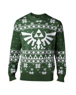 Nintendo Legend Of Zelda Knitted Royal Crest Christmas Sweater Jumper | Mens XXL (New)