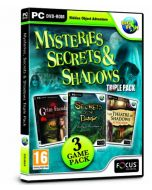 Mysteries,Secrets and Shadows Triple Pack (PC DVD) (New)