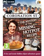 Coronation Street: The Mystery Of The Missing Hotpot Recipe (PC CD) (New)