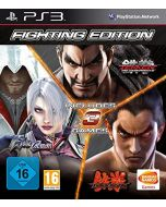 Fighting Edition: Tekken 6/Tekken Tag Tournament 2 and Soul Calibur V (PS3) (New)