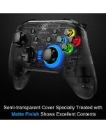 GameSir T4 Wireless Gamepad 2.4 GHz Wireless Game Controller with LED (PC) (New)
