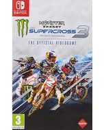Monster Energy Supercross 3 (Switch) (New)