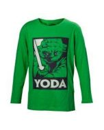 Star Wars: Episode IV - A NEW T-shirt Yoda with Lightsaber Kids Shirt Green-158/164 (New)