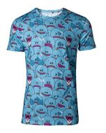 Rick and Morty T-Shirt AOP Mr Meeseeks Men's T-Shirt Blue-XL (New)