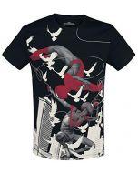 Spider-Man Miles Morales - Spider-Man T-Shirt Black XXL (New)