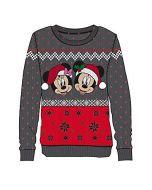 Disney - Mickey & Minnie Christmas Women's Sweatshirt (s) (New)